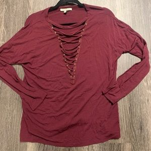 New Edgy Express Comfy Tee (size small)